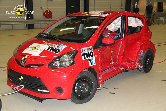 EuroNCAP Toyota Aygo