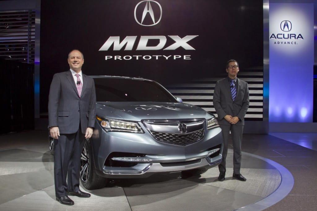 Презентация Acura MDX 2014 -…