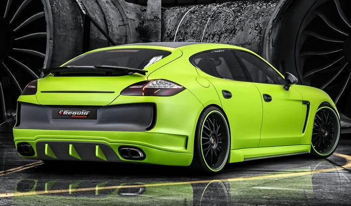 Más potencia y un nuevo kit de carrocería para el Porsche Panamera por Regula Exclusive