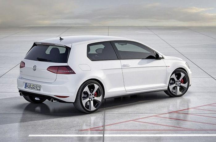 La idea de un Volkswagen Golf Coupé podría nutrirse además de las siglas GTI