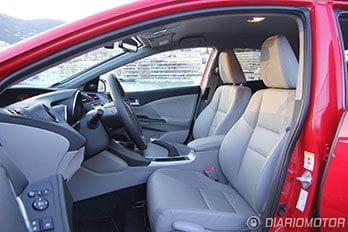 Foto del Honda Civic 1.6 i-DTEC diésel de 120 CV: presentación y prueba en Niza