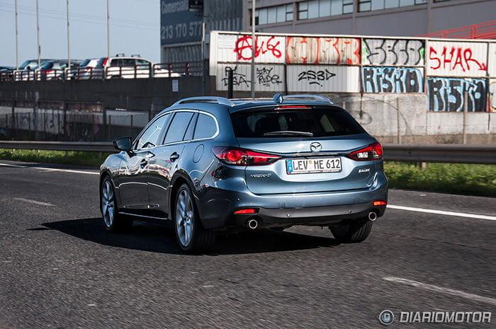 Mazda 6, presentación y prueba en Lisboa