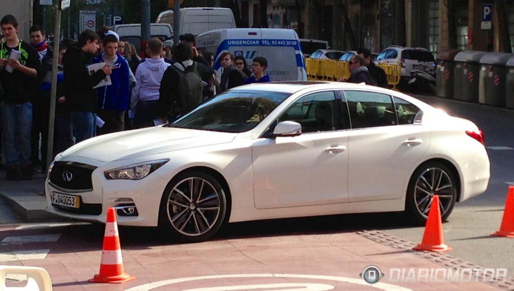 infiniti q50 white with black rims. infiniti q50 forum u003eu003e anybody know what type of wheels these are white with black rims