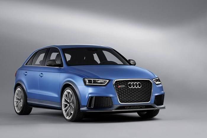 Audi Q3 RS: 310 caballos para el primer SUV RS de Audi