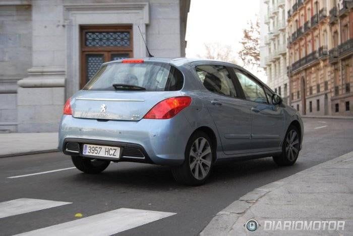 Nuevos detalles del Peugeot 308
