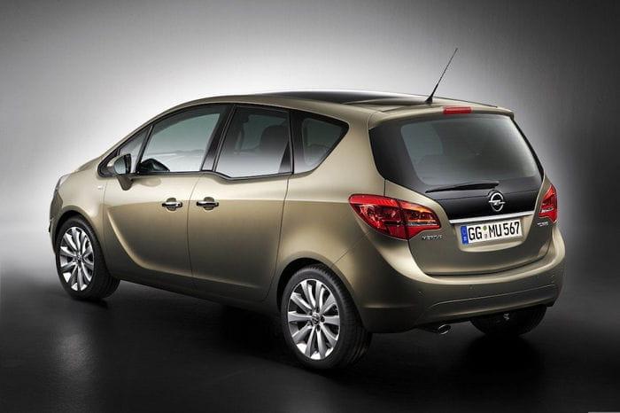 El Opel Meriva se prepara también para un lavado de cara