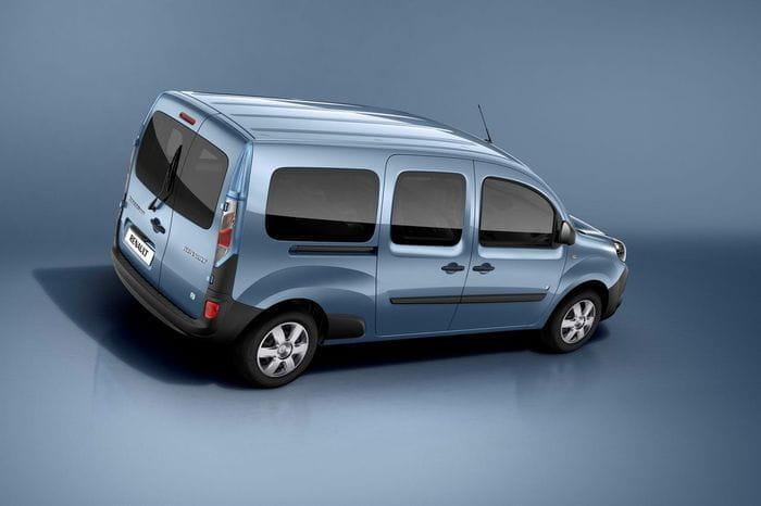 La Renault Kangoo se renueva y gana una versión Furgón de tres plazas