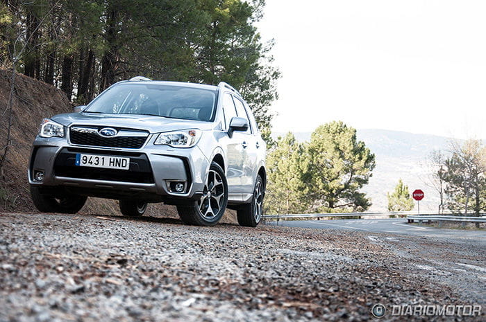 Prueba del Subaru Forester 2013