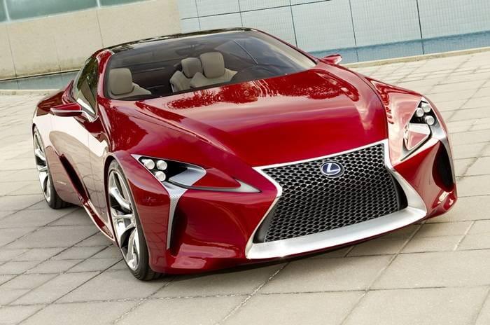 Lexus dice sí a la fabricación de un deportivo híbrido basado en el concept LF-LC