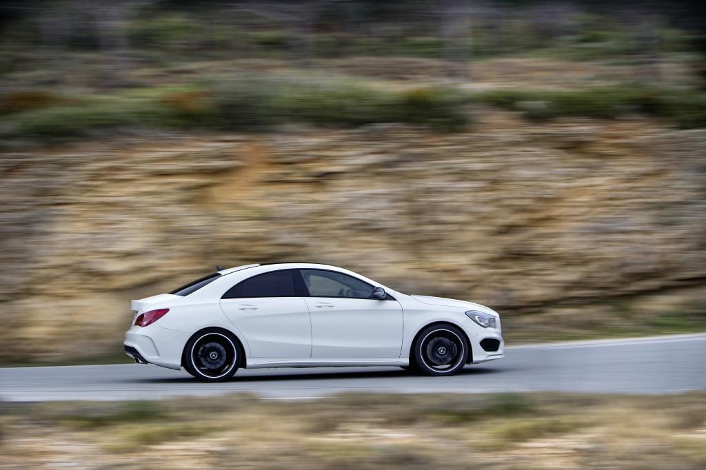 Mercedes Benz, CLA 250, 4matic, Sport, DCT, Zirrus-Weiss