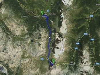 Paso del Umbreil Google Maps