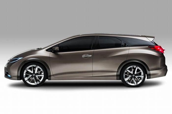 Honda Civic Tourer Concept: así es la alternativa familiar del Honda Civic