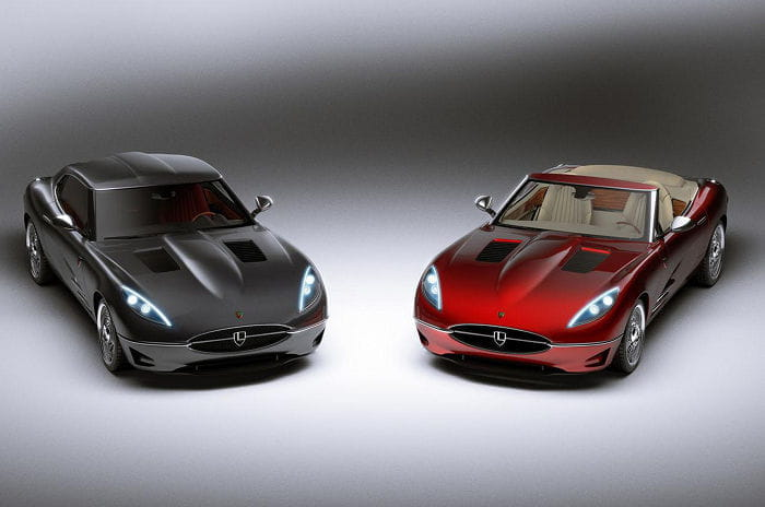 Lyonheart K: reviviendo al Jaguar E-Type