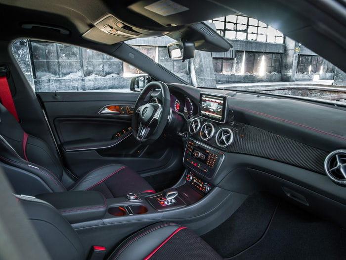 Mercedes CLA 45 AMG: primeras imágenes de la nueva berlina deportiva