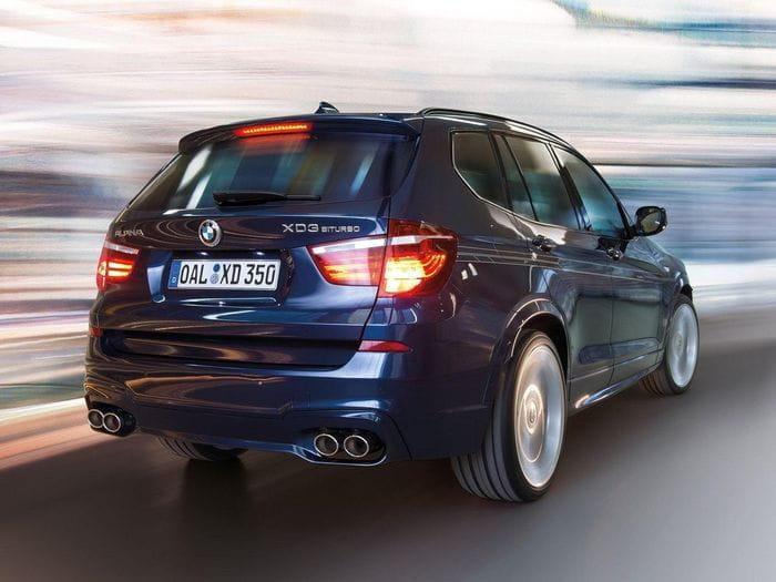 Alpina XD3 BiTurbo, el primer SUV de Alpina está basado en el BMW X3
