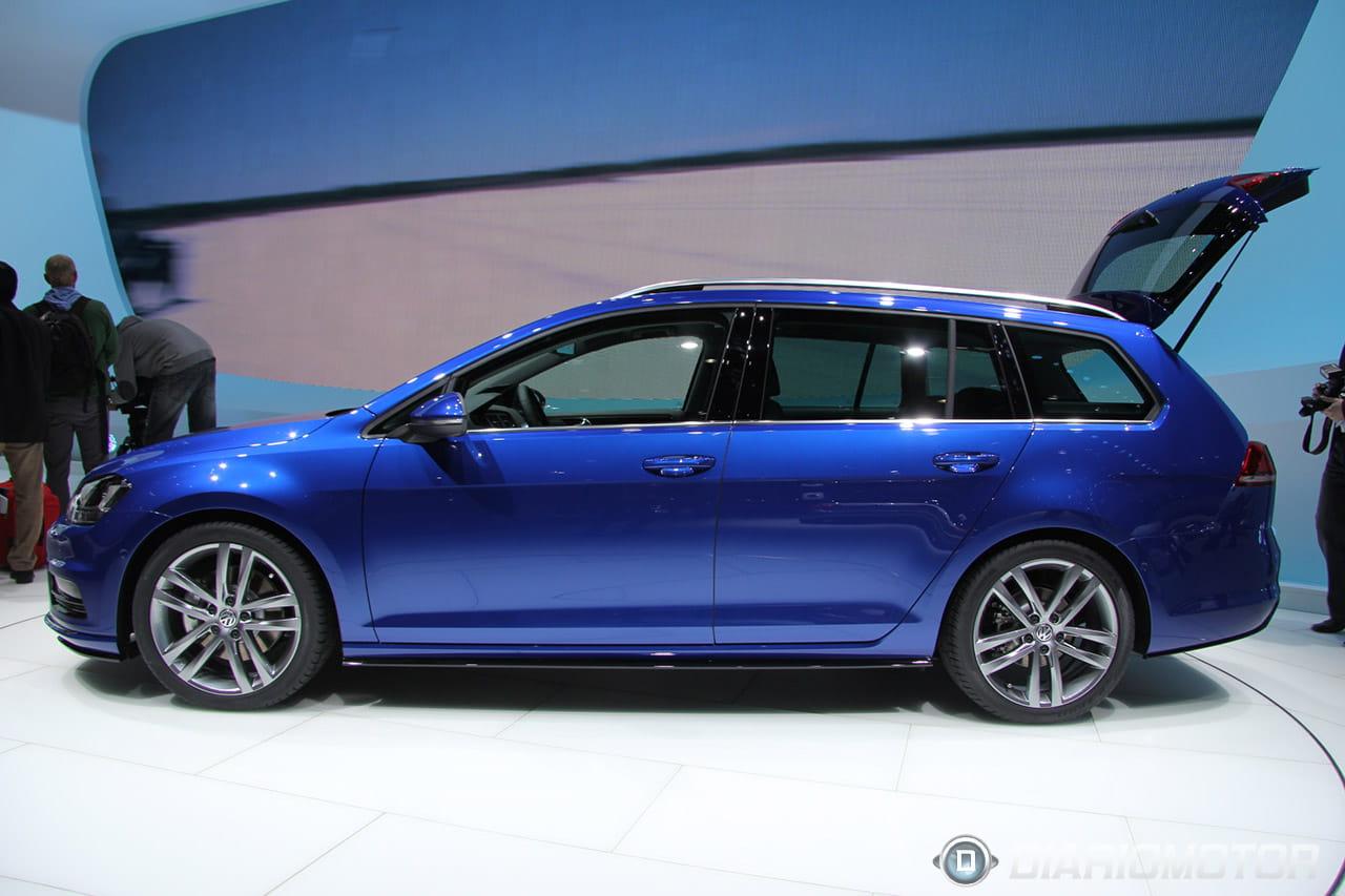 Volkswagen golf variant r line concept 4motion y un for R line exterieur golf variant