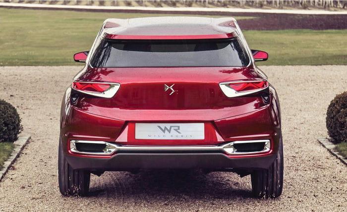 Citroën DS Wild Rubis: los SUV llegan a la gama DS de Citroën