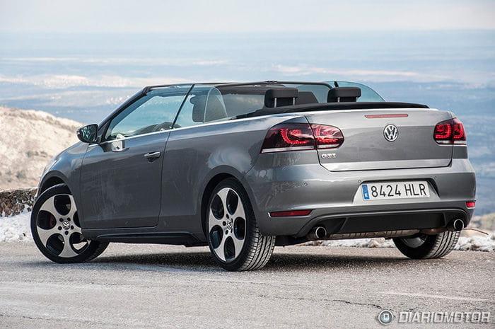 Prueba del Volkswagen Golf GTI Cabrio