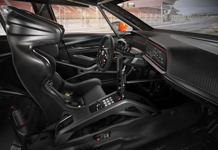 Seat León Cup Racer: el León se viste de competición