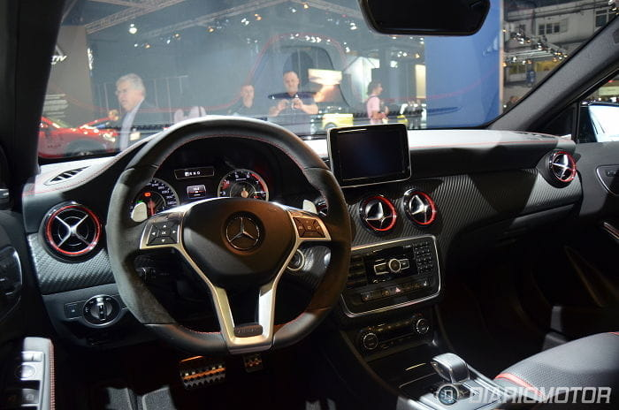 Mercedes A 45 AMG: el Clase A más picante no se perdió el Salón de Barcelona