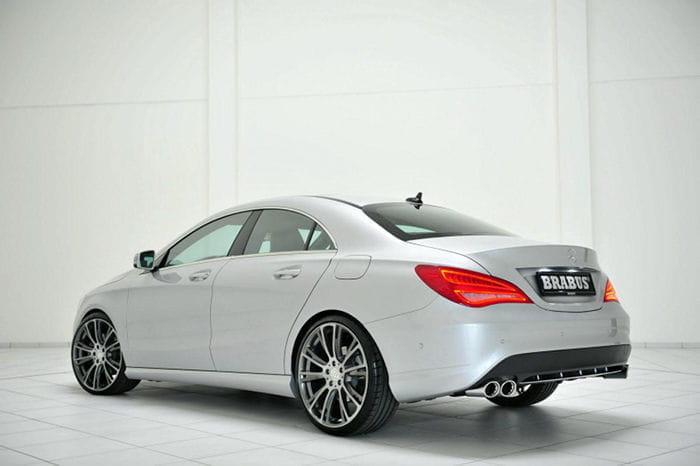 Brabus pone muy un ligero toque de tuning al Mercedes CLA