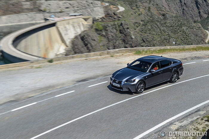 Prueba del Lexus GS 450h F Sport
