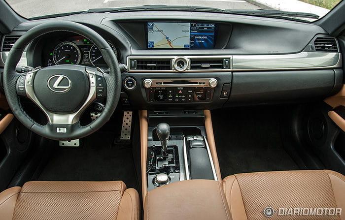 Prueba del Lexus GS 450h F-Sport