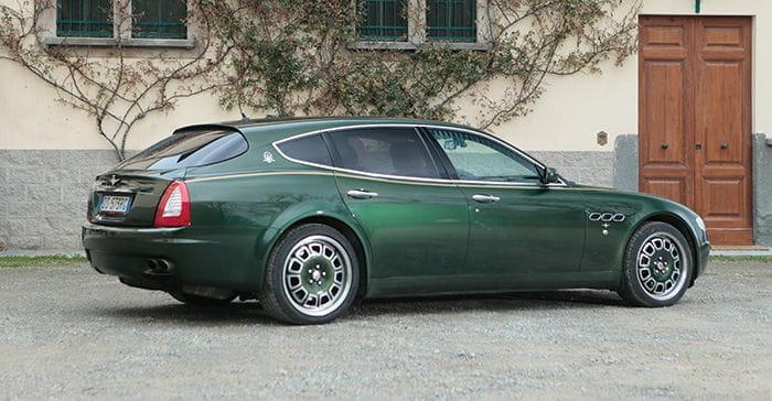 Maserati Quattroporte Bellagio de Touring Superleggera