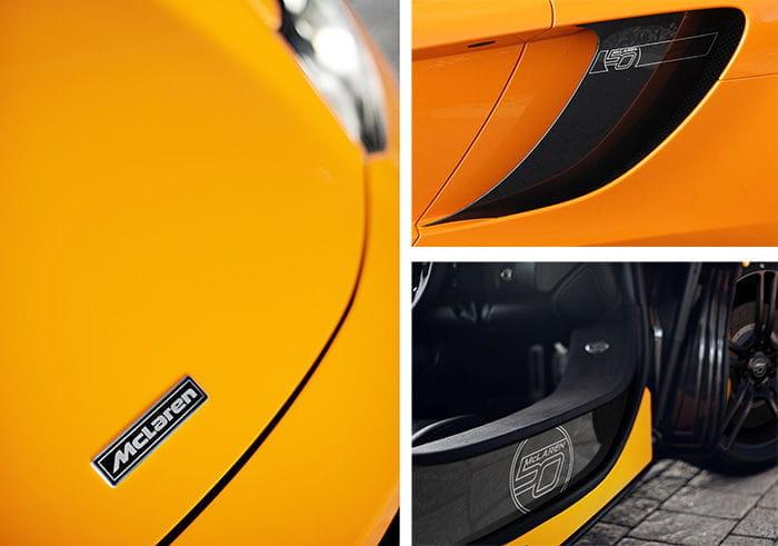McLaren 12C 50 Aniversario