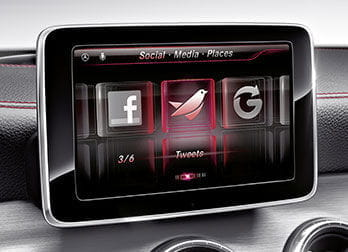 Mercedes CLA, integración iPhone Drive Kit Plus
