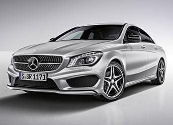 Mercedes CLA, llantas de aleación AMG