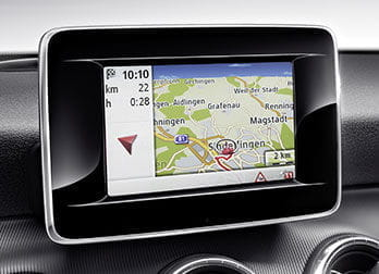 Mercedes CLA, navegador extraíble Becker MAP PILOT