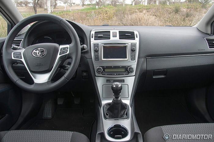 Toyota Avensis 120D, prueba