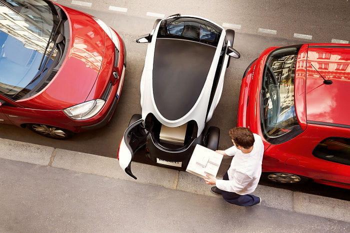 Evidentemente los cambios exteriores no son tan drásticos, ni tan atractivos, como los del Renault Twizy RSF1, centrándose en este caso en su capacidad de ...