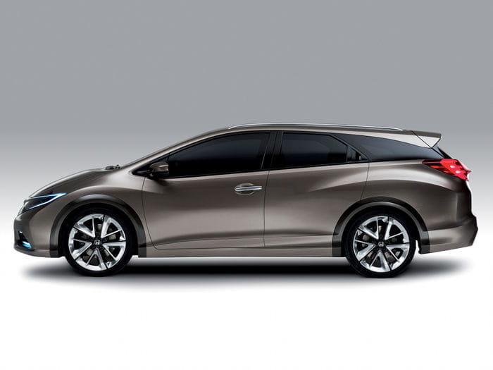 El Honda Civic Tourer tendrá también su lado deportivo