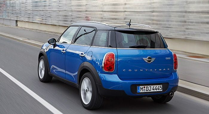 Mini Cooper Countryman ALL4 y Paceman ALL4