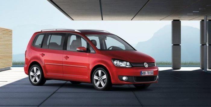 Volkswagen Touran 2013, ahora con más opciones de equipamiento y un motor 1.2 TSI de 105 CV