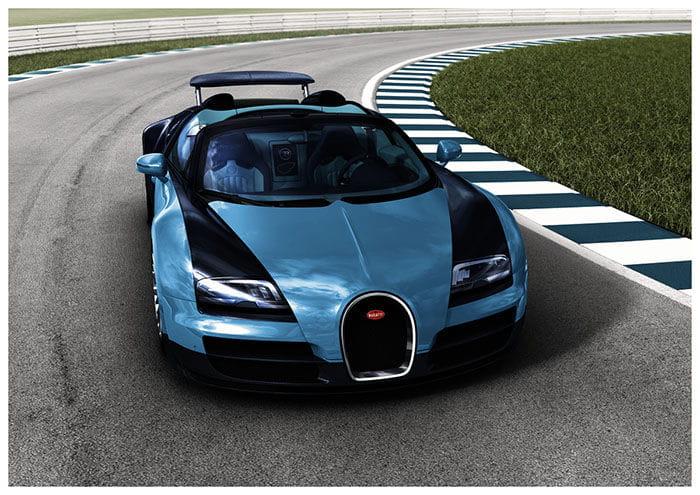 Bugatti Legends, las nuevas ediciones especiales del Veyron Grand Sport Vitesse