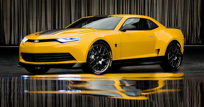 Bumblebee: y aquí está el exótico Chevrolet Camaro que protagonizará Transformers 4