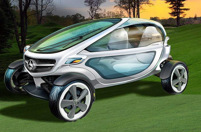 """Mercedes-Benz intentó diseñar un carrito de golf y acabó """"inventando"""" el Renault Twizy"""