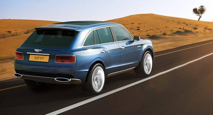 Bentley confirma la llegada de un SUV