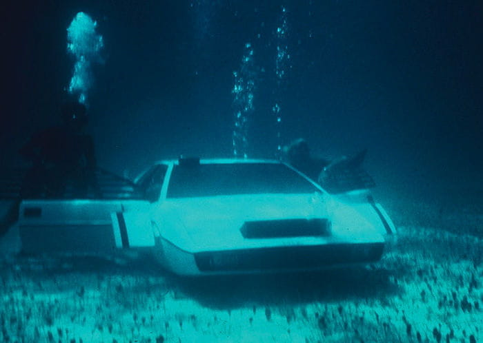 Lotus Esprit submarino de James Bond