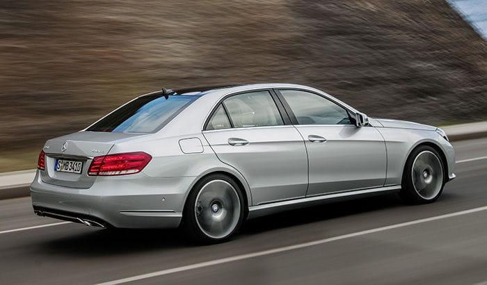 Mercedes Clase E 9G-TRONIC