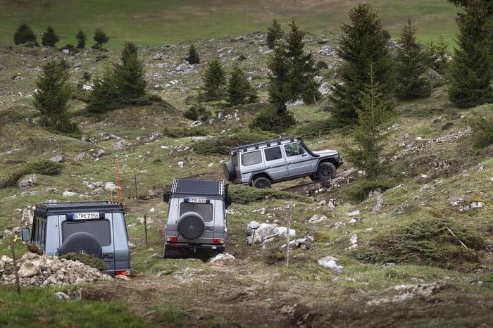 Una nueva flota de Mercedes Clase G 300 CDI para el ejército suizo