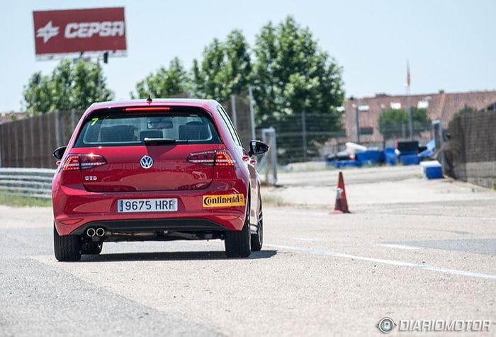 Volkswagen Golf GTI y GTD en el Jarama