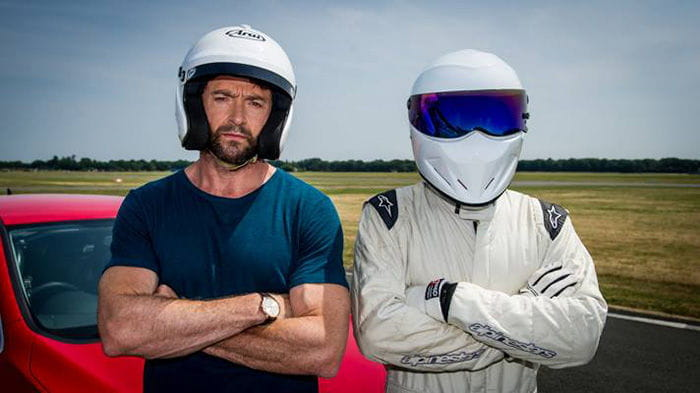 Hugh Jackman en Top Gear