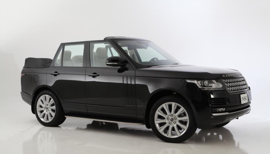 Range Rover Convertible, Newport se apunta a la tendencia de los SUV descapotables