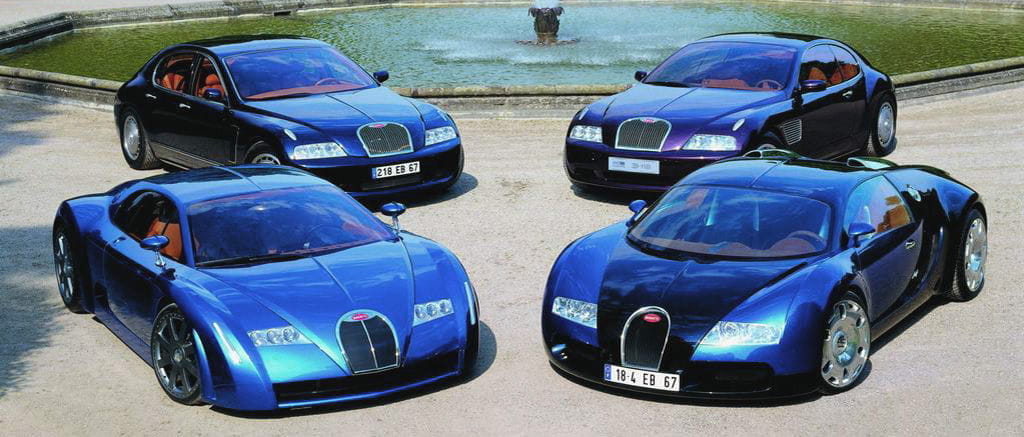 Bugatti Veyron Concepts