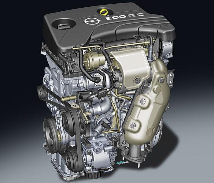 Opel Adam tricilíndrico