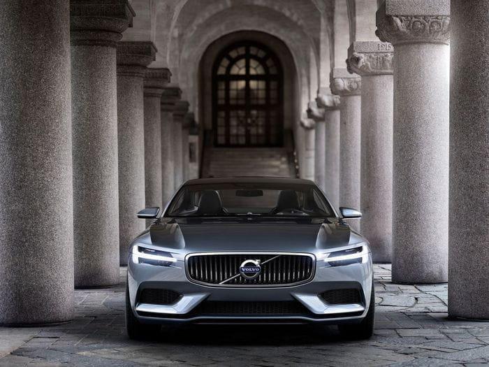 Volvo Concept Coupé, un nuevo coupé Volvo inspirado en el clásico P1800